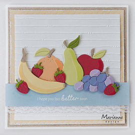 Marianne Design Cutting dies,  Marianne Design, Fruit, COL1469 15 pcs, 104 x 87.5 mm