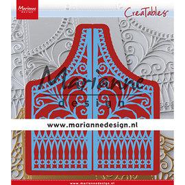 Marianne Design Stansning skabelon, Stansemal,  Marianne Design, LR0613 + A4  Cozy Christmas