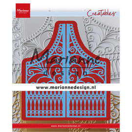 Marianne Design Plantillas de corte,  Marianne Design, LR0613 + A4  Cozy Christmas