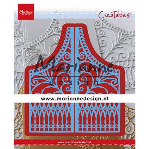 Marianne Design Snijmallen, Sjablonen, Marianne Design, LR0613 + A4  Cozy Christmas