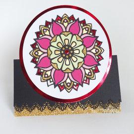 Marianne Design Stansning skabelon, Stansemal,   Marianne Design, LR0614, Mandala