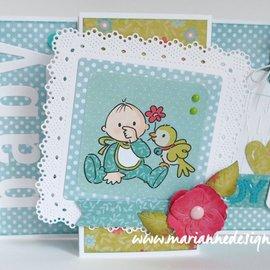 Marianne Design Snijmallen, Sjablonen,  Marianne Design, Shaker Square, CR1475