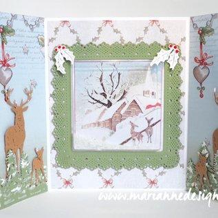 Marianne Design Til stansning med en stansemaskine for at skabe fantastiske effekter til dine kort, dekorationer og scrapbogsider.