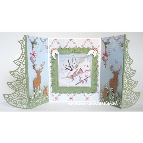 Marianne Design For punching with a punching machine to create stunning effects for your cards, decorations and scrapbook pages