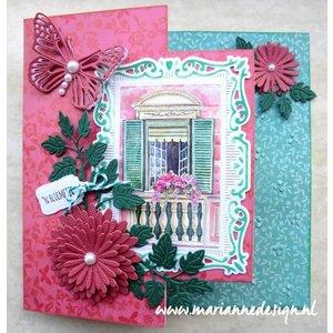 Marianne Design Stanzschablone: Anja's Flower set
