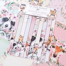 Karten und Scrapbooking Papier, Papier blöcke Papier pour cartes et albums, A4, Collection d'insert Magical Forest