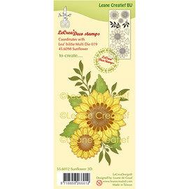 Leane Creatief - Lea'bilities und By Lene Stempel, Sonnenblumen