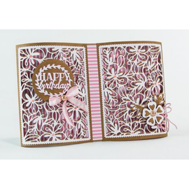 Tonic Studio´s Cutting dies: Book Maker,   Tonic patterned panels - 1332e