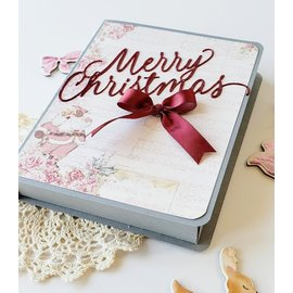 Prima Marketing und Petaloo Prima Marketing, Santa Baby, 45 Journaling Notecards, 10.16 x 15.24 inches