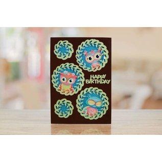 Tattered Lace Per punzonare con una punzonatrice per creare effetti sorprendenti per le tue carte, decorazioni e pagine di album.