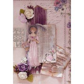 "LaBlanche 1 Bogen, LaBlanche Papers ""Anemone"" 4"