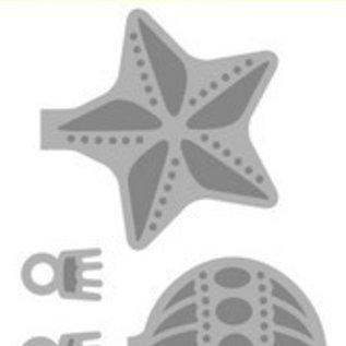 Crealies und CraftEmotions Stansning skabelon: julekugler. Til stansning med en stansemaskine for at skabe fantastiske effekter til dine kort, dekorationer r og scrapbogside