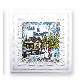 CREATIVE EXPRESSIONS und COUTURE CREATIONS Stempel, Kerstmis, Winter door creatieve uitdrukkingen