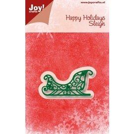 Joy!Crafts / Jeanine´s Art, Hobby Solutions Dies /  Plantillas de corte , trineo, Joy Crafts, ¡pocos disponibles!
