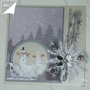 Joy!Crafts / Jeanine´s Art, Hobby Solutions Dies /  cutting dies, sled,  Joy Crafts, few available!