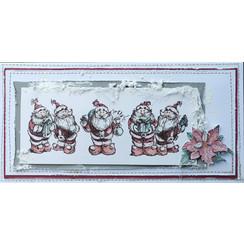 Sello de LaBlanche: 5 lindas Papá Noel