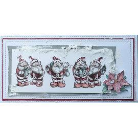 LaBlanche Timbro di LaBlanche: 5 simpatici Babbo Natale