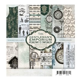 CREATIVE EXPRESSIONS und COUTURE CREATIONS Bloc de papier - Gentleman's Emporium, 152,4 x 152,4 mm