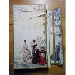 "LaBlanche LaBlanche, ontwerppapier 30,5 x 30,5 cm, ""La Mode Illustree"""
