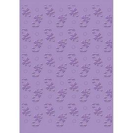 JUSTRITE AUS AMERIKA Carpeta de grabación en relieve, Carpeta de grabación en relieve, Bastones de caramelo, 17.5 x 12.0 cm