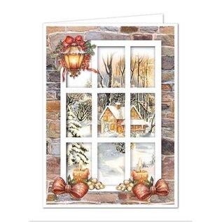 BASTELSETS / CRAFT KITS Bastelset for 6 window maps winter landscapes