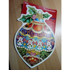 REDDY XL window picture, sticker, 42 x 28cm, with motif selection