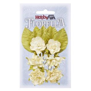 Stamperia und Florella Versieringen: bloemen, deze bloemen geven al uw papieren knutsel projecten de perfecte touch!