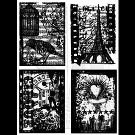 Tim Holtz Set di francobolli: Collezioni vacanze CMS 076, ULTIME DISPONIBILI!
