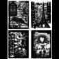 Tim Holtz Jeu de timbres: Collections de vacances CMS 076, DERNIÈRE DISPONIBLE!