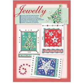 STICKER / AUTOCOLLANT Craft set for the design of bright beautiful cards