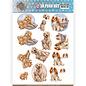 Bilder, 3D Bilder und ausgestanzte Teile usw... pre-cut A4 picture sheet, dogs