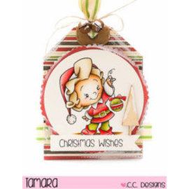 C.C.Designs timbro trasparente: Elfe
