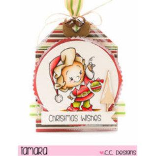 C.C.Designs sello transparente: Elfe