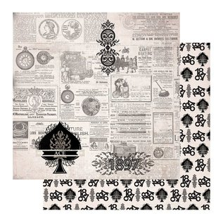 CREATIVE EXPRESSIONS und COUTURE CREATIONS Papirblok - Gentleman's Emporium, 152,4 x 152,4 mm