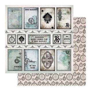CREATIVE EXPRESSIONS und COUTURE CREATIONS Bloque de papel - Emporio de caballeros, 152,4 x 152,4 mm