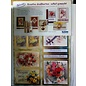 BASTELSETS / CRAFT KITS Reddy Deluxe, card set, flowers, with gold foil effect!
