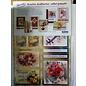 BASTELSETS / CRAFT KITS Reddy Deluxe, jeu de cartes, fleurs, effet feuille d'or!