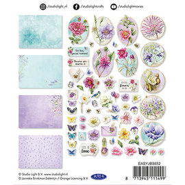 Embellishments / Verzierungen Embellishments, 45 pieces, to design on cards, albums, scrapbook and more!