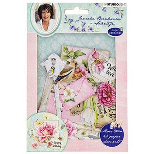 Embellishments / Verzierungen Versieringen, 45 stuks, om te ontwerpen op kaarten, albums, plakboek en meer!