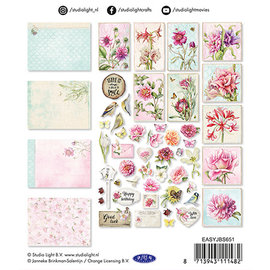 Embellishments / Verzierungen NUEVO! Adornos, 45 piezas, para diseño en tarjetas, álbumes, álbumes de recortes y mucho más.