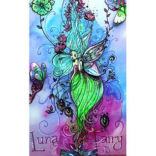 CREATIVE EXPRESSIONS und COUTURE CREATIONS Stamp, A5, Luna Fairy, fairy
