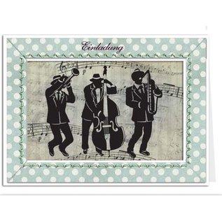 BASTELSETS / CRAFT KITS Craft Kit, voor 6 Passepartout-kaarten met papieruitsparingen
