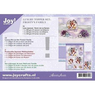 BASTELSETS / CRAFT KITS Kerstkaarten, kaartenset, hunkydory handwerkset, luxe kaarten + 2 zilveren kaarten + zelfklevende pads + stickers!
