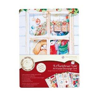 Forever Friends Forever Friends, A Christmas Tale, A4 Rahmen Karte!