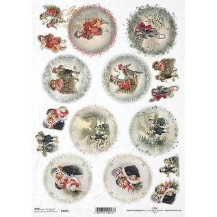 DECOUPAGE AND ACCESSOIRES NEW! 2x soft paper, 210 x 297 mm (A4) 40g