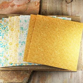 Prima Marketing und Petaloo Prima Marketing, 8 fogli di carta di gelso, 15 x 15 cm