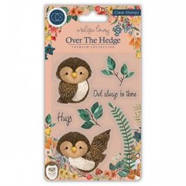 STEMPEL / STAMP: GUMMI / RUBBER Stamp, a charming owl design and high quality stamp.