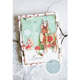 Stempel / Stamp: Transparent Transparent stamp with 5 Christmassy motives