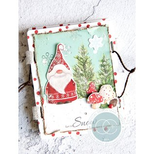 Stempel / Stamp: Transparent Transparante stempel met 5 kerstmotieven