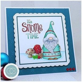 Stempel / Stamp: Transparent Timbre transparent avec 5 motifs de Noël